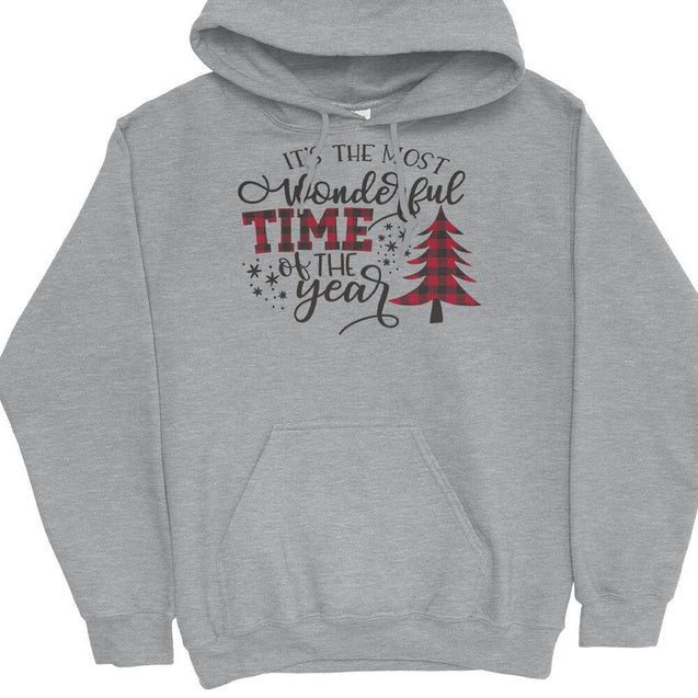 Most Wonderful Time of The Year Hoodie Hoodie - Textual Tees