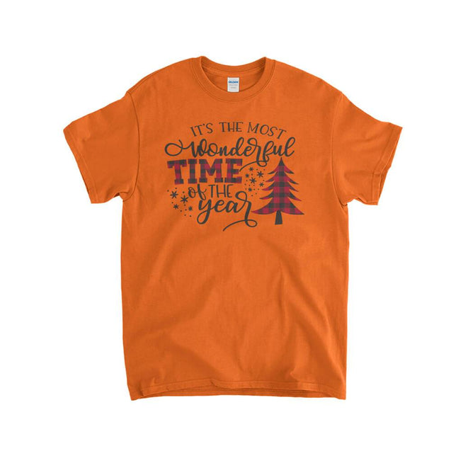 Most Wonderful Time of The Year Kids T-Shirt Kids T-Shirt - Textual Tees