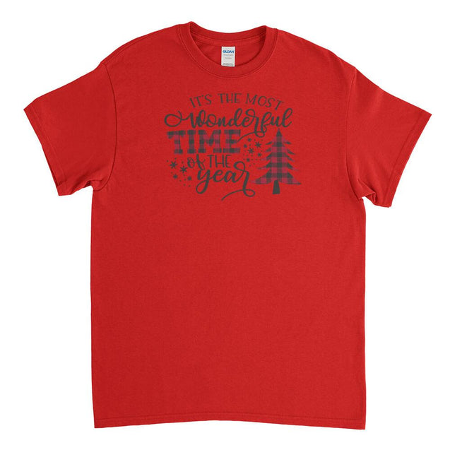 Most Wonderful Time of The Year Mens T-Shirt Mens T-Shirt - Textual Tees
