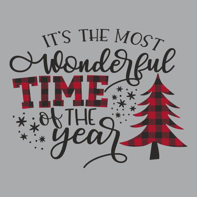 Most Wonderful Time of The Year Mens Tanktop Mens Tanktop - Textual Tees
