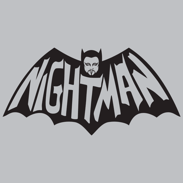 Nightman T-Shirt Mens T-Shirt - Textual Tees