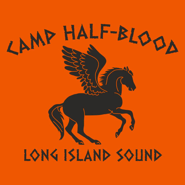 Camp Half-Blood Long Island Sound T-Shirt Mens T-Shirt - Textual Tees