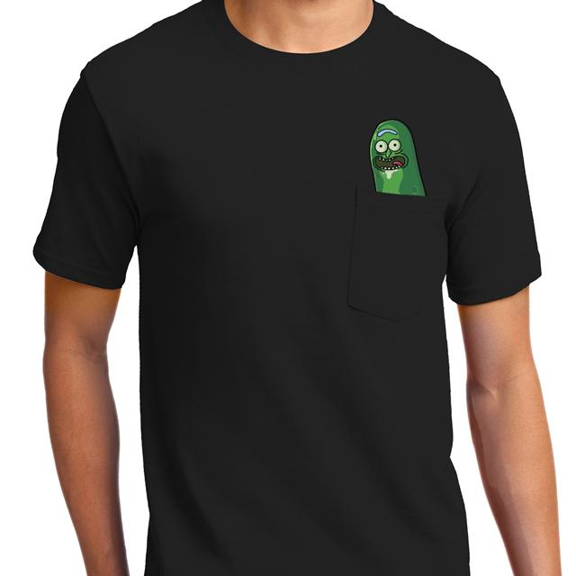 Pickle Rick Pocket T-Shirt