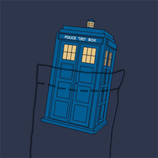 Tardis Pocket Tee