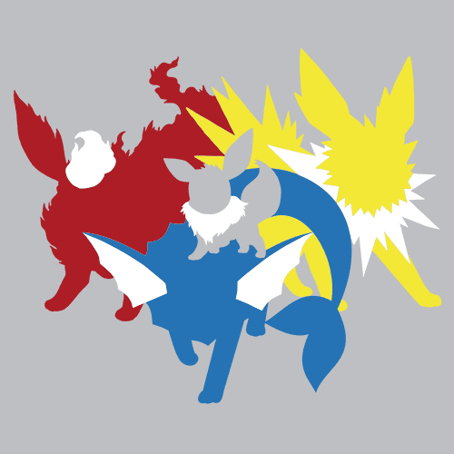 Eeveelution T-Shirt Mens T-Shirt - Textual Tees