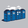 Port-A-Tardis T-Shirt - Textual Tees