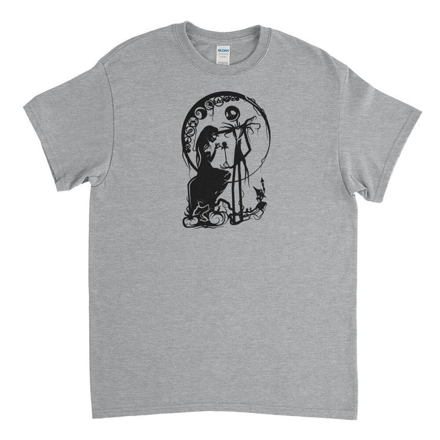 Sally and Jack Skellington Mens T-Shirt Mens T-Shirt - Textual Tees