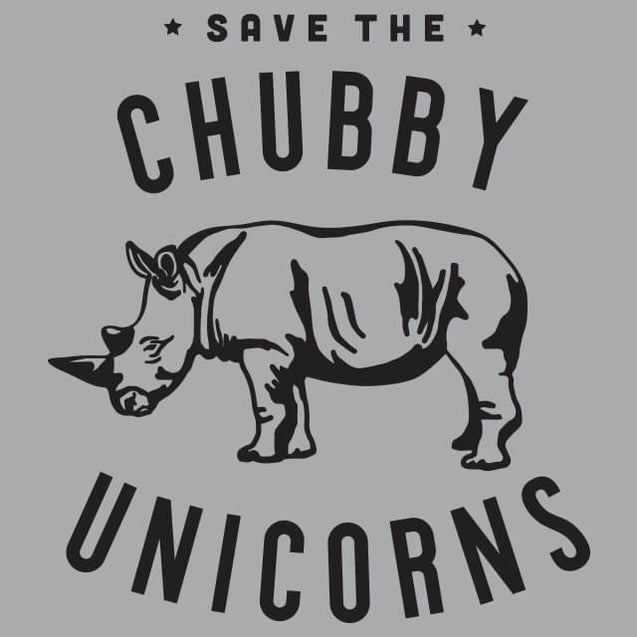 Save the Chubby Unicorns T-Shirt - Textual Tees