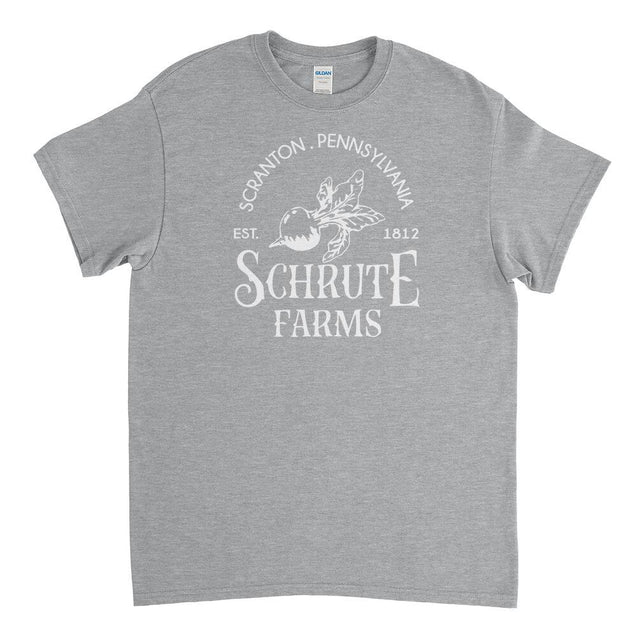 Schrute Farms Mens T-Shirt Mens T-Shirt - Textual Tees