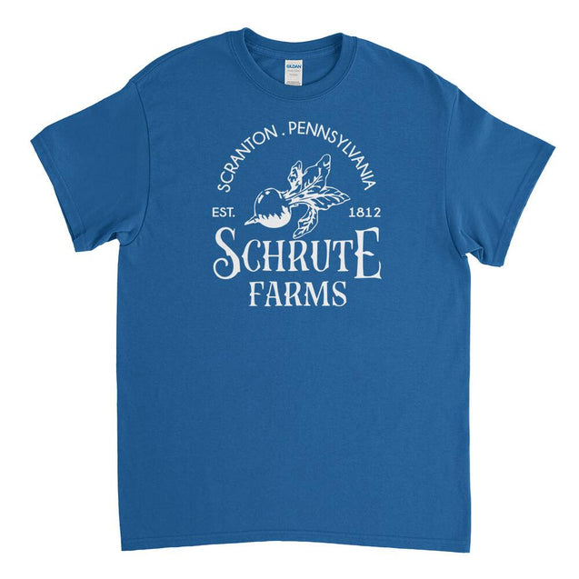 Schrute Farms Mens T-Shirt - Textual Tees