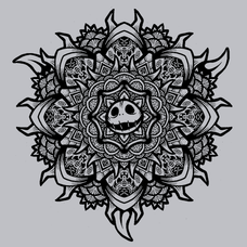 Skellington Mandala