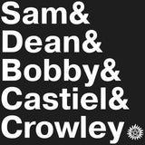 Supernatural Names T-Shirt