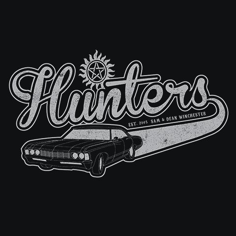 Supernatural Hunters T-Shirt Mens T-Shirt - Textual Tees