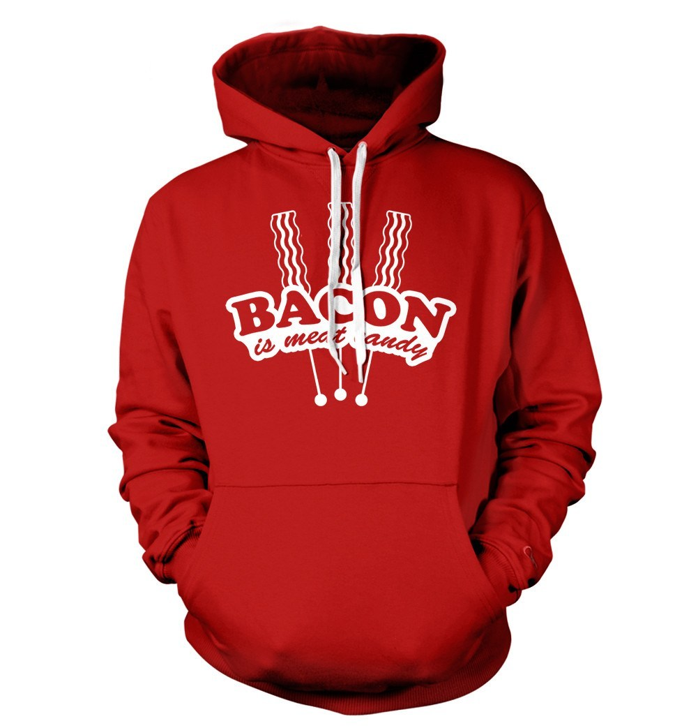 ea982e2a2c Bacon T-Shirt Bacon is Meat Candy Food | Textual Tees