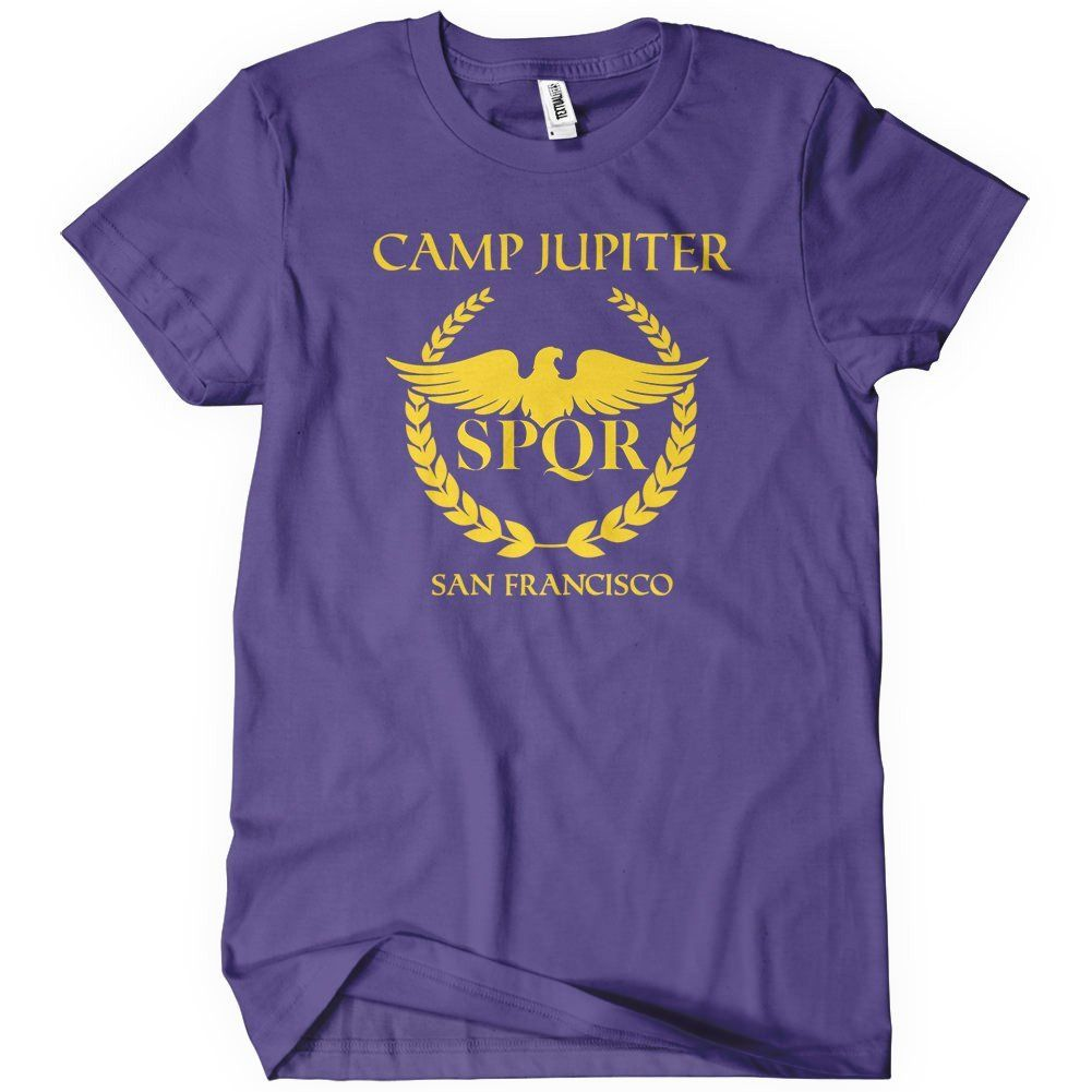 Camp Jupiter T-Shirt Percy Jackson Shirts | Textual Tees Camp Jupiter Shirt Percy Jackson