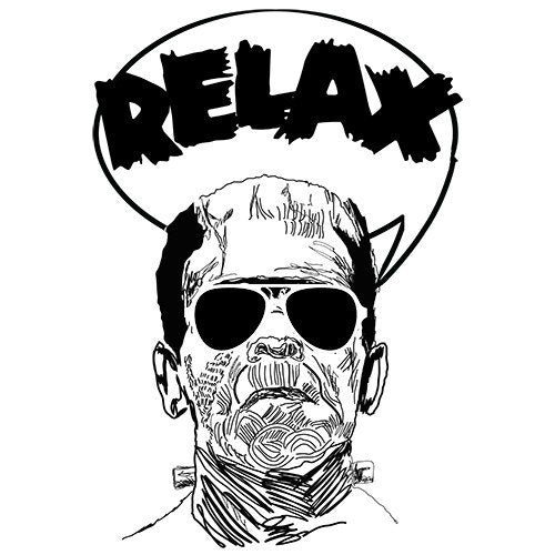 T-Shirts - Frankenstein Say Relax