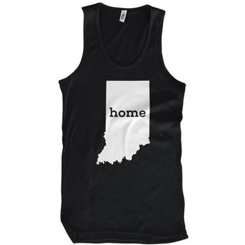 Indiana Home T-Shirt Mens T-Shirt - Textual Tees