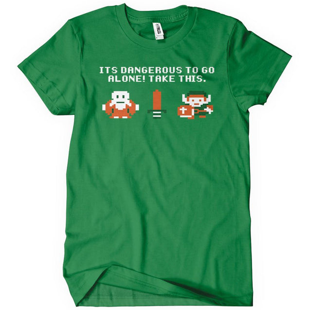 T-Shirts - It's Dangerous To Go Alone