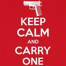 T-Shirts - Keep Calm And Carry One