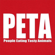 T-Shirts - People Eating Tasty Animals