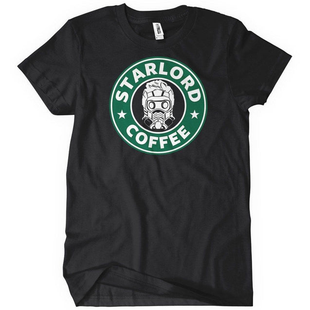 Star Lord Coffee T-Shirt T-Shirts - Textual Tees