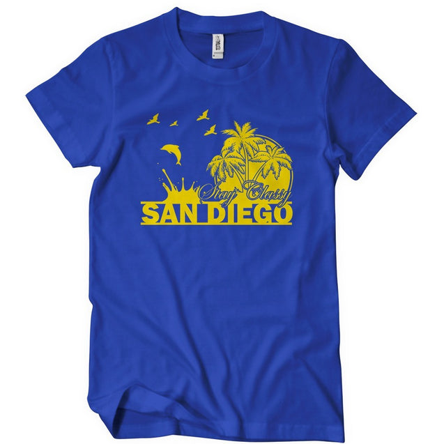 Stay Classy San Diego T-Shirt T-Shirts - Textual Tees