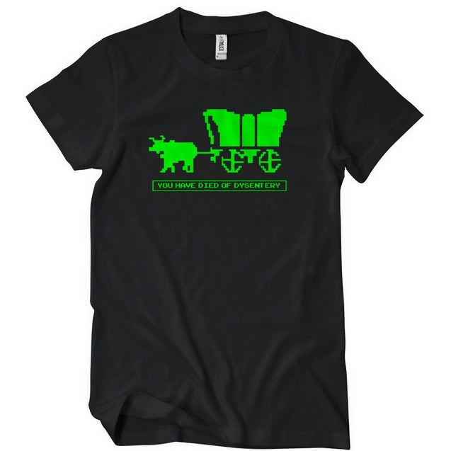 You Have Died Of Dysentery T-Shirt Mens T-Shirt - Textual Tees