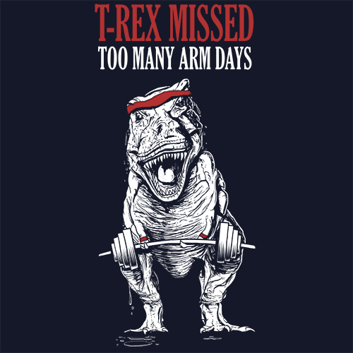 T-Rex Missed Too Many Arm Days