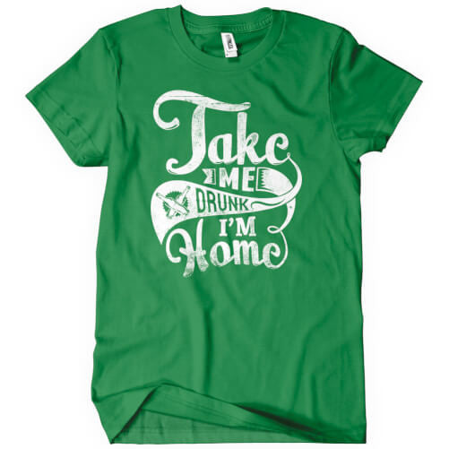 Take Me Drunk T-Shirt Mens T-Shirt - Textual Tees