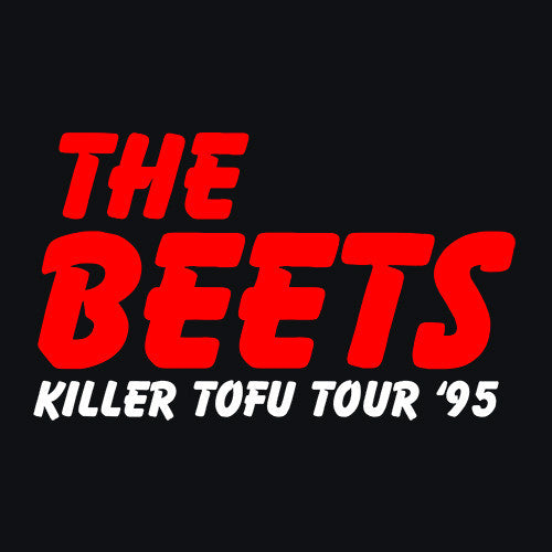 The Beets Killer Tofu Tour '95 T-Shirt Mens T-Shirt - Textual Tees