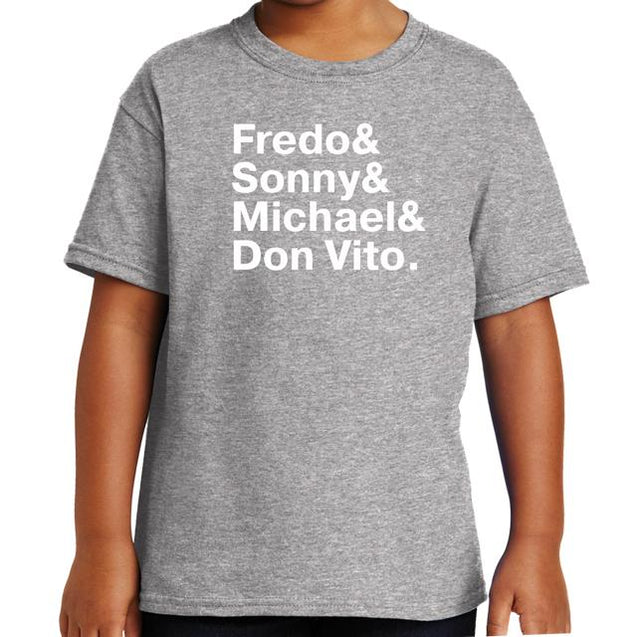 The Godfather Names T-Shirt