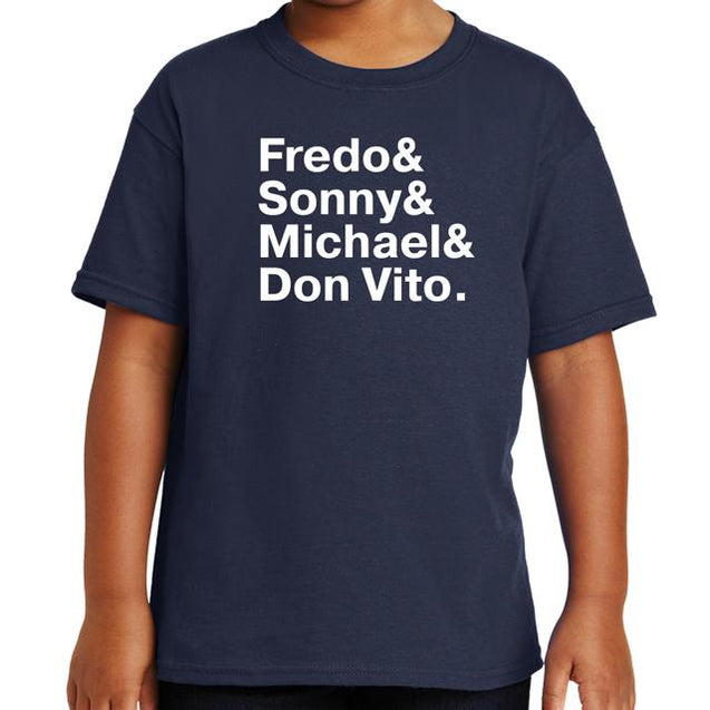 The Godfather Names T-Shirt - Textual Tees