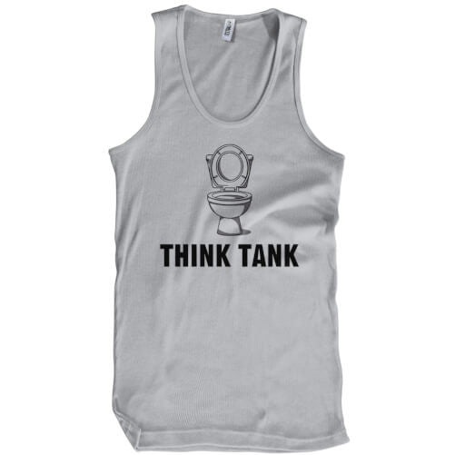 Think Tank T-Shirt Mens T-Shirt - Textual Tees