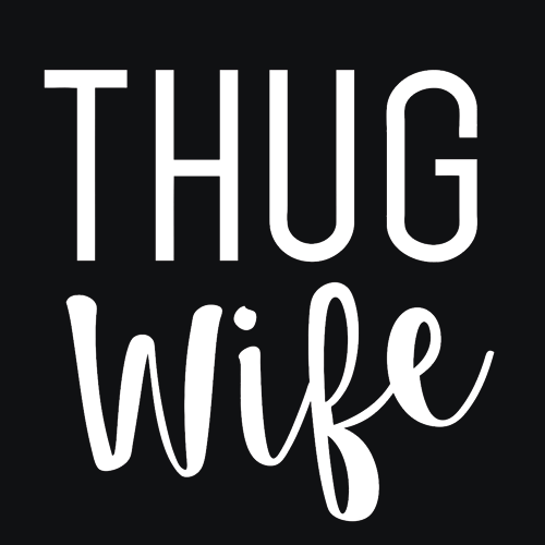 Thug Wife T-Shirt Mens T-Shirt - Textual Tees