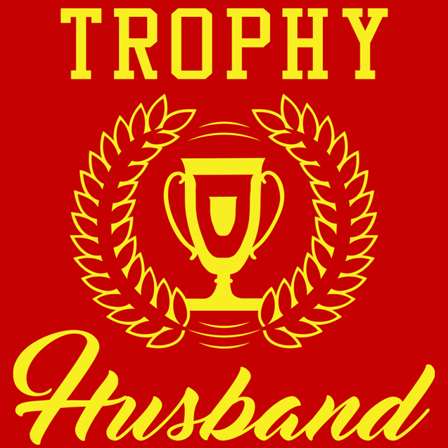 Trophy Husband T-Shirt Mens T-Shirt - Textual Tees