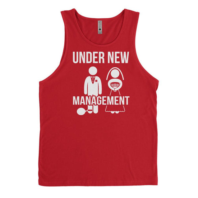 Under New Management Mens Tanktop Mens Tanktop - Textual Tees