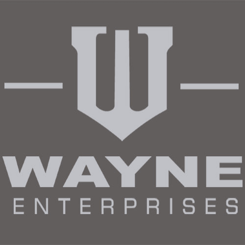 Wayne Enterprises T-Shirt Mens T-Shirt - Textual Tees