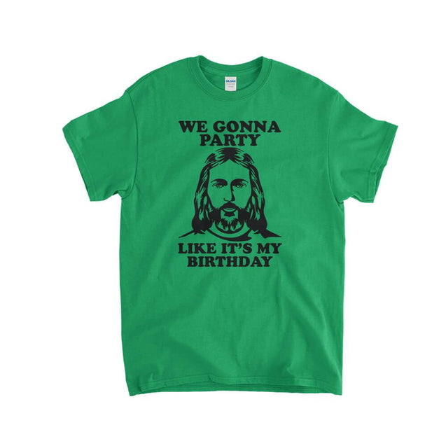 We Gonna Party Like It's My Birthday Kids T-Shirt - Textual Tees