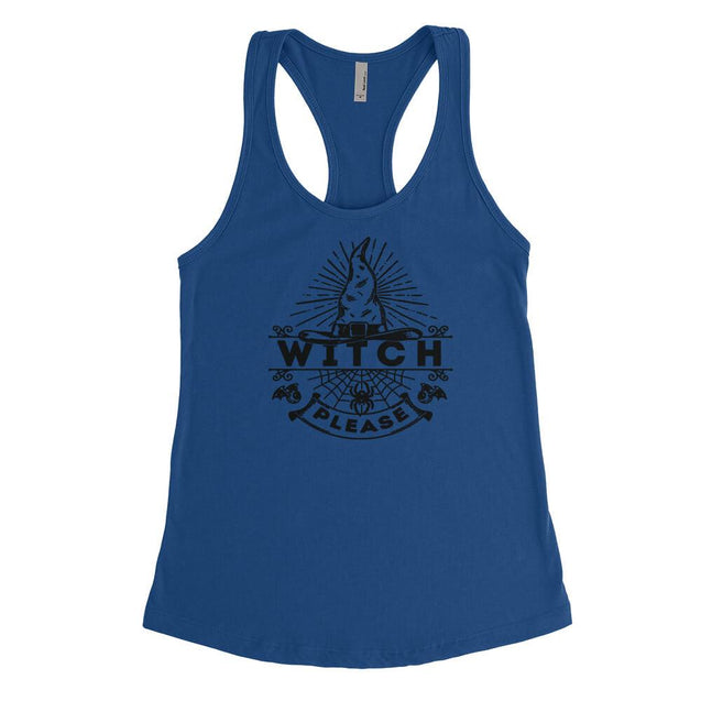 Witch Please Womens Tanktop Womens Tanktop - Textual Tees