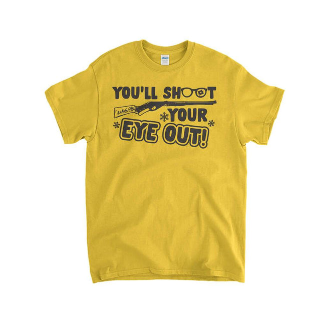 You'll Shoot Your Eye Out Kids T-Shirt Kids T-Shirt - Textual Tees