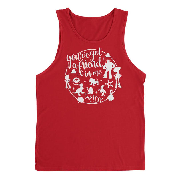You've Got A Friend In Me Mens Tanktop Mens Tanktop - Textual Tees