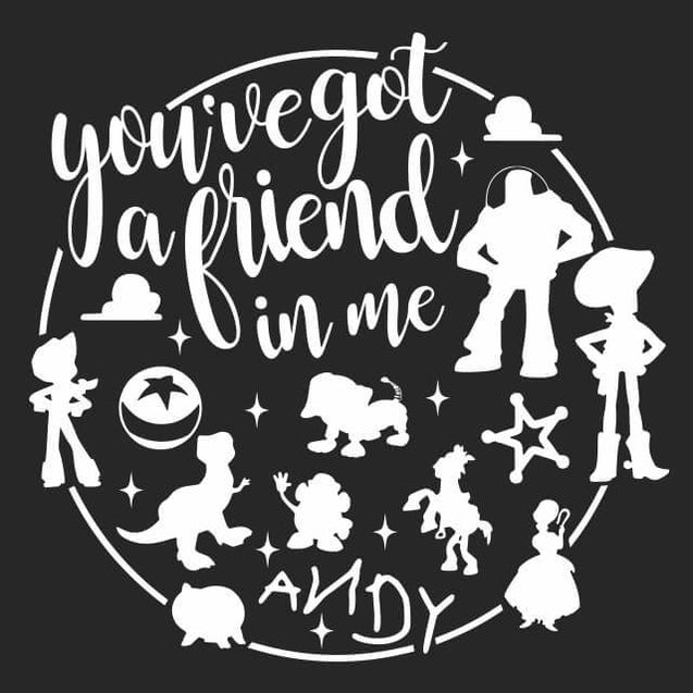 You've Got A Friend In Me Long Sleeve T-Shirt Longsleeve T-Shirt - Textual Tees