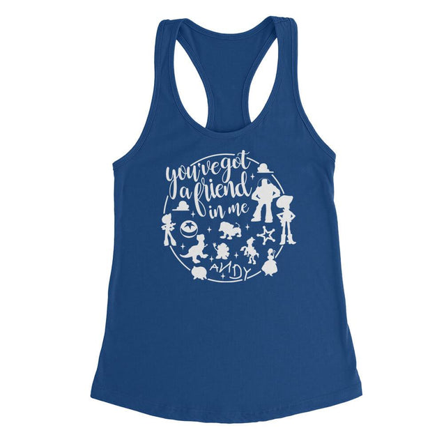 You've Got A Friend In Me Womens Tanktop Womens Tanktop - Textual Tees