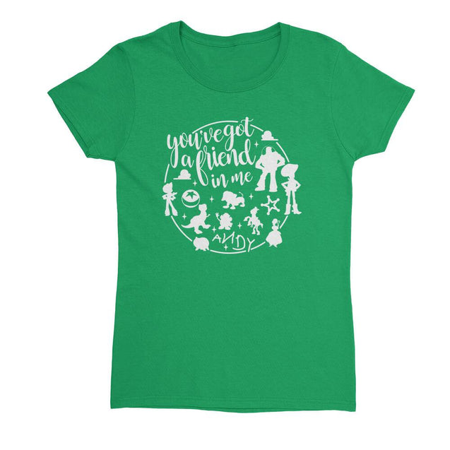 You've Got A Friend In Me Womens T-Shirt Womens T-Shirt - Textual Tees