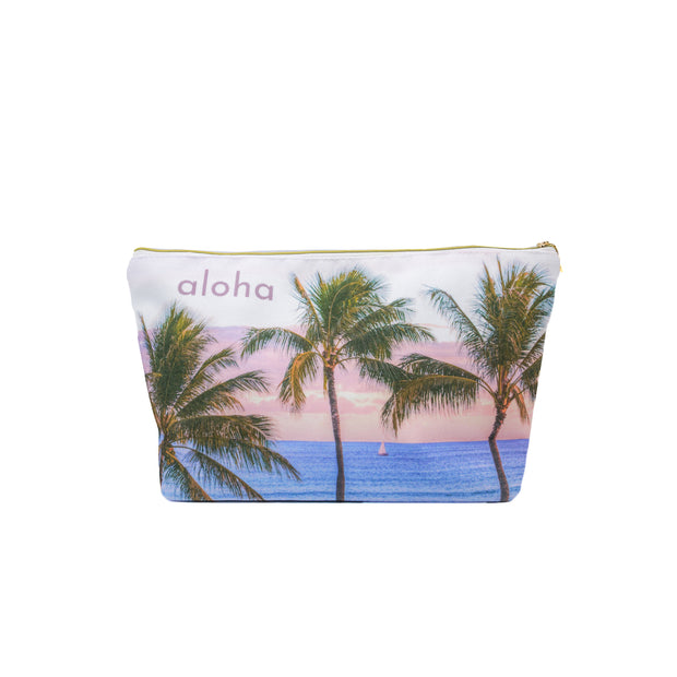 Palms Sail Large  Clutch