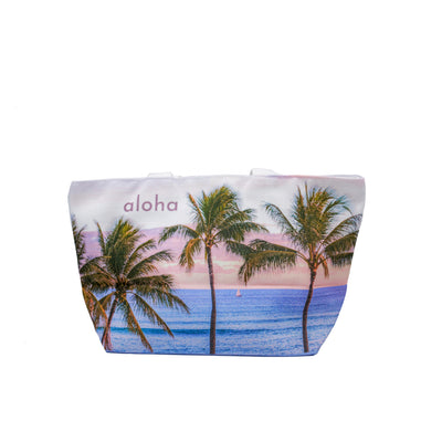 Palms Sail Lunch Tote