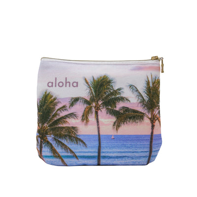 Palms Sail Small Clutch