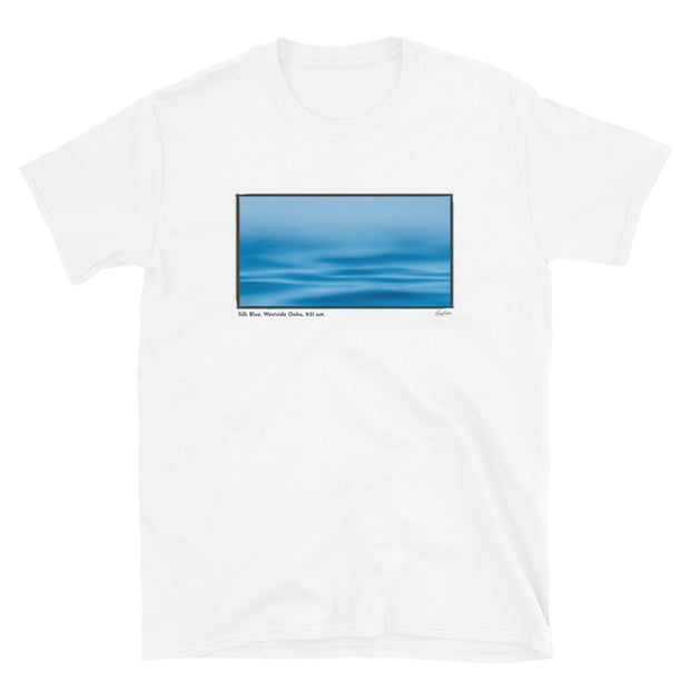 Silk Blue, Westside Oahu, 9:31 am, Short-Sleeve Unisex T-Shirt