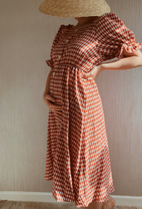 Margot Gingham Dress
