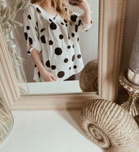 Load image into Gallery viewer, Lil Polka Dot Blouse